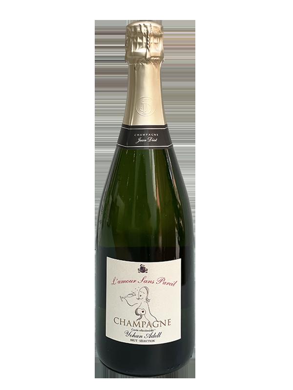 L'Amour sana pareil Champagne bottle